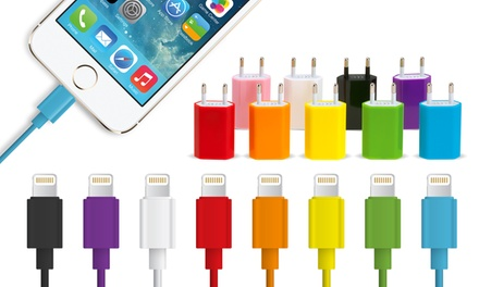 Cable Lightning y adaptador Avanca para iPhone 5/5S/5C/6/6 Plus