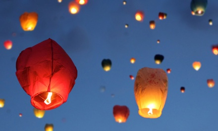 Chinese Lanterns from Chinese Sky Lanterns (Up to 61% Off). Two Options Available.