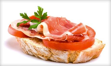 Menú de pa amb oli para dos o cuatro personas con ensalada y bebida desde 12,95 € en Fabrika 45 de Santa Catalina