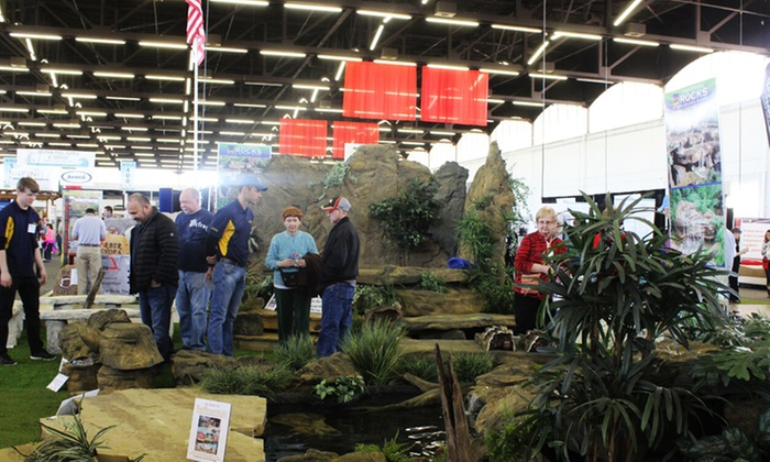 International Exhibitions - Northwest Dallas: 37th Texas Home & Garden Show Admission for Two or Four on March 4–6 (50% Off)