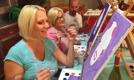 BYOB Painting Party Class for One, Two, or Four at Personal Picasso (Up to 54% Off)