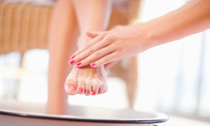 Paul Labrecque Salon and Spa - Multiple Locations: Deluxe Spa Pedicure with Optional Spa Manicure at Paul Labrecque Salon & Spa (Up to 52% Off)