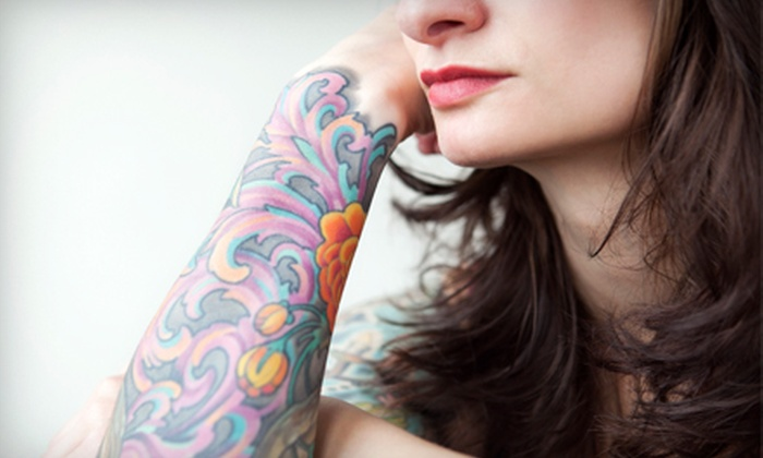 """Rock City Ink, LLC - Conyers: Tattoo for a 2""""x2"""", 3""""x3"""", or 4""""x4"""" Area at Rock City Ink, LLC (Up to 56% Off)"""