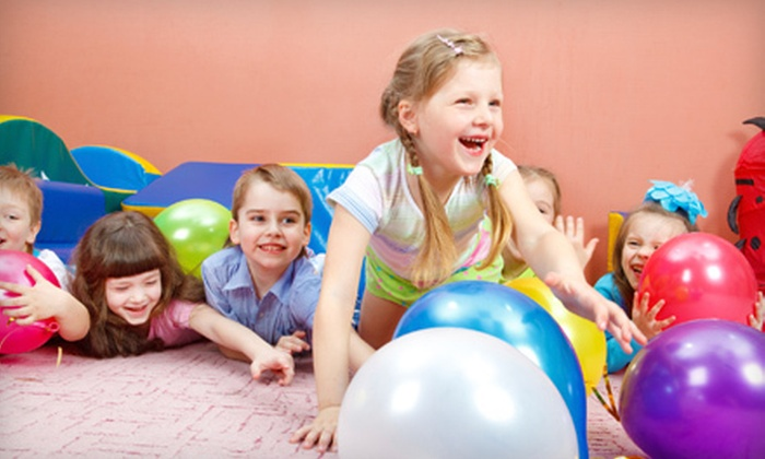 Giggles Play Station - Rockaway: Entertainment Package for Four or Birthday-Party Package for 10 Kids at Giggles Play Station (Up to 61%)