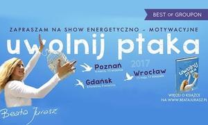 """Show """"Uwolnij ptaka"""": Bilet na interaktywny show """"Uwolnij ptaka"""" za 49,99 zł – 3 miasta (zamiast 130 zł)"""