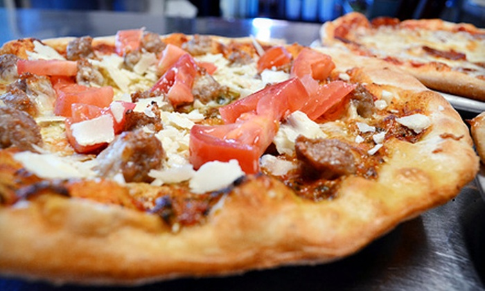 Transfer Pizzeria Café - Transfer Pizzeria: Pizza and Italian Food at Transfer Pizzeria Café (Up to 41% Off). Two Options Available.
