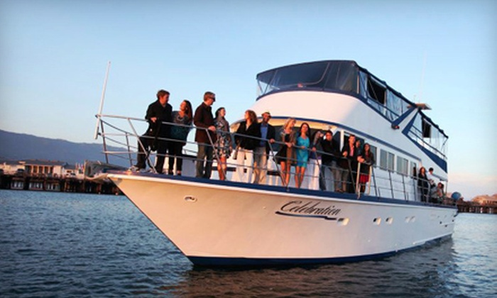 Celebration Cruises Santa Barbara - Celebration Cruises of Santa Barbara: One-Hour Sunset Cruise for Two or Four from Celebration Cruises Santa Barbara (Up to 51% Off)