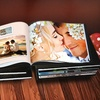 $9 for Personalized Leather Photo Book