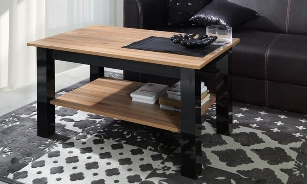table basse loreto groupon. Black Bedroom Furniture Sets. Home Design Ideas