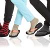 3-Pack of Women's V-Toe Flip-Flop Socks