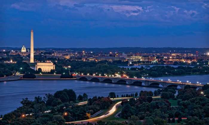 null - Washington DC: Stay with Breakfast for Two and WiFi at Sheraton Pentagon City Hotel in Arlington, VA. Dates into September Available.