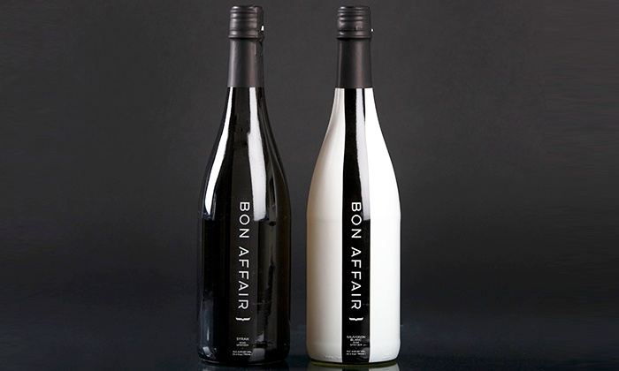Bon Affair: Two- or Four-Pack of Low-Calorie Sparkling Red or White Wine from Bon Affair (Up to 39% Off)