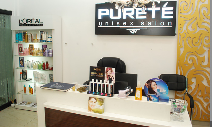 Beauty services at purete unisex salon malviya nagar for Adamo salon malviya nagar