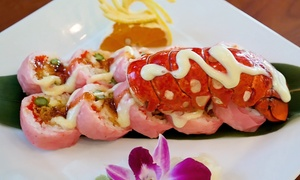 Wasabi Sushi Bar: $15 for $30 Worth of Sushi, Japanese Food, and Drinks at Wasabi Sushi Bar