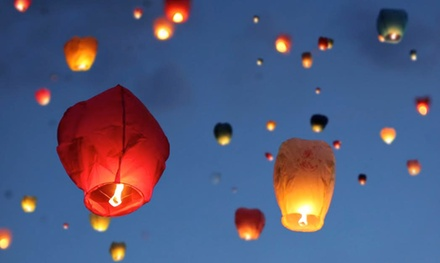 Chinese Lanterns from ChineseSkyLanterns.com (Up to 61% Off). Two Options Available.