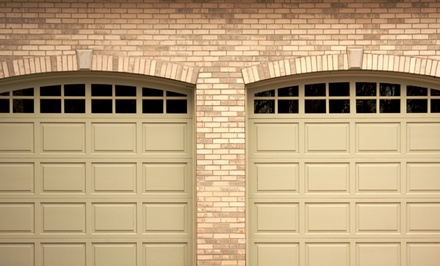 Garage-Door Tune-Up with Optional Roller Replacement or Keyless Entry from Genuine Garage Doors (Up to 64% Off)