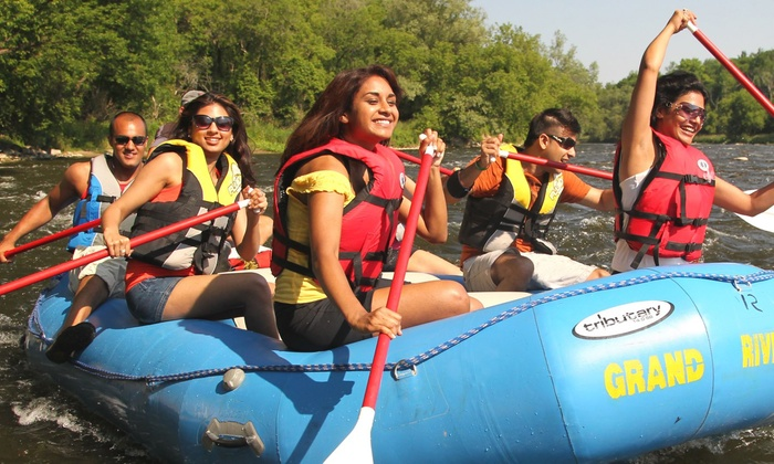 Grand River Rafting - Barrie: Three-Hour Grand River Rafting Adventure for 2, 4, 8, 12, or 16 People from Grand River Rafting (Up to 62% Off)