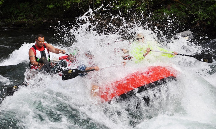 Oregon River Excursions - Blue River: Full-Day Rafting Trip with Lunch for Two or Four from Oregon River Excursions (Up to 45% Off)