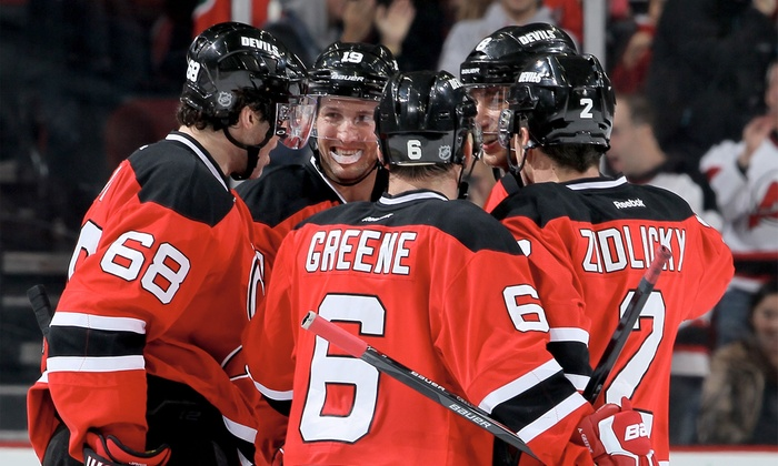 New Jersey Devils - Prudential Center: New Jersey Devils Ticket, Souvenir, and Concession Package at Prudential Center on Dec. 17 or Dec. 23