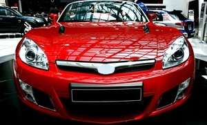 The Dent Center: Vehicle Hail-Damage Repairs with Optional Rental Car from The Dent Center (Up to 90% Off)