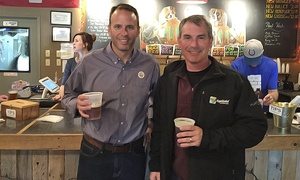 Brewery Tours of Indianapolis: Downtown Tour for Two, Four, or Eight on Thursday or Sunday from Brewery Tours of Indianapolis (Up to 40% Off)