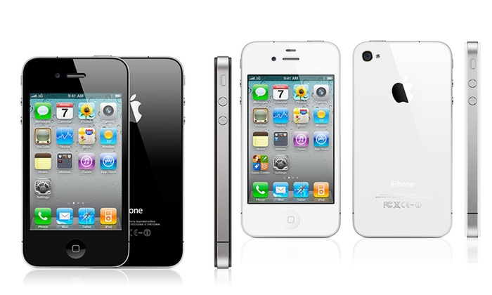 apple iphone 4s reconditionn groupon shopping. Black Bedroom Furniture Sets. Home Design Ideas
