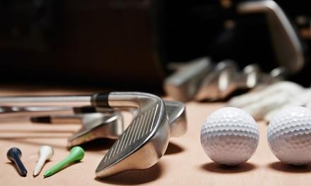10er Karte für Indoor-Golf oder für Simulator für 1 Person bei Jordan Golf Cologne GmbH & Co. KG (bis zu 45% sparen*)