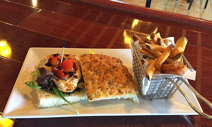 Milestone Kitchen & Bar - Cranston: New American Dinner Fare and Drinks for One at Milestone Kitchen & Bar (Up to 44% Off)