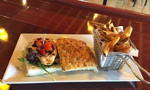 Milestone Kitchen & Bar: New American Lunch and Dinner Fare and Drinks for One, Two, or Four at Milestone Kitchen & Bar (Up to 62% Off)
