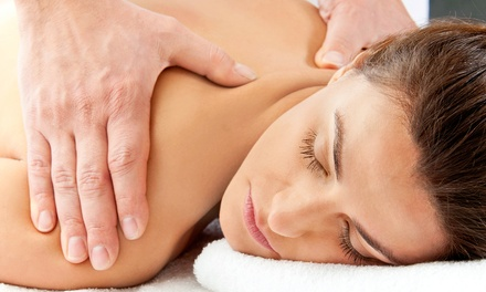 60-Minute Massage, or Chiropractic Exam, Treatment, and Massage at Mountain View Pain Center (Up to 84% Off)