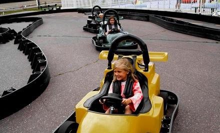 $15 for $30 Worth of Go-Kart Racing at Checkered Flag Raceway in Berlin