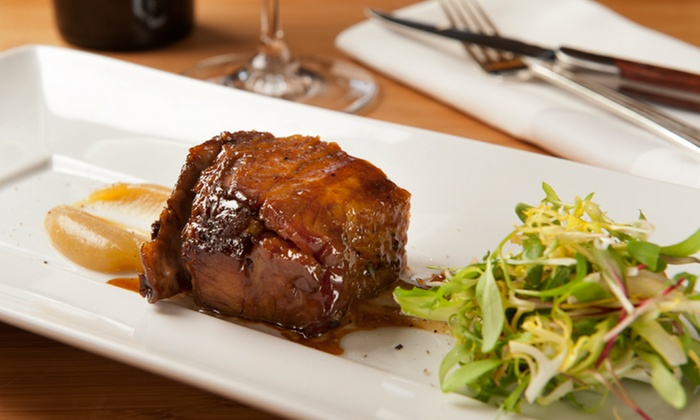 Meritage Steakhouse - JW Marriott Resort & Spa: Four-Course Local Beer Dinner for Two on January 10 or 24 or February 7 at Meritage Steakhouse (67% Off)