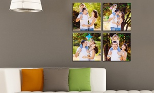 Picture It On Canvas: Custom Square Canvas Prints from Picture It On Canvas (Up to 89% Off). Three Sizes Available.