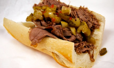 $16 for 2 Groupons, Good for $16 Worth of Food at Luke's Chicago Style Italian Sandwiches ($32 Value)