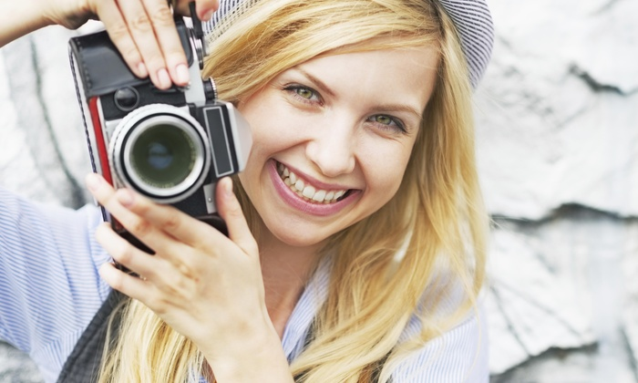 A Thousand Words - El Paso: 60-Minute Outdoor Photo Shoot from A Thousand Words (70% Off)
