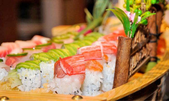 Kumo Japanese Steakhouse & Sushi - Multiple Locations: $17 for $32 Worth of Japanese Cuisine at Kumo Japanese Steakhouse & Sushi