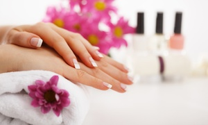 AzNailz: $21 for Shellac Mani and Moisture Treatment or Full Set of Acrylic Nails  at AzNailz ($40 Value)