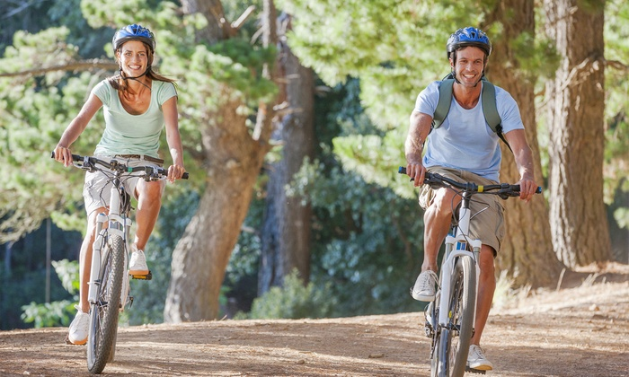 BK Adventure - BK Adventure Tour Meeting Point : Mountain-Bike Tour with Optional Kayaking for Two or Four from BK Adventure (Up to 57% Off)