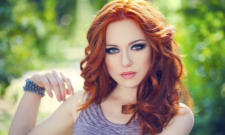 Haircut with Conditioning, Single-Process Color, or Partial or Full Highlights at Wildflower Hair Studio (Up to 62% Off)