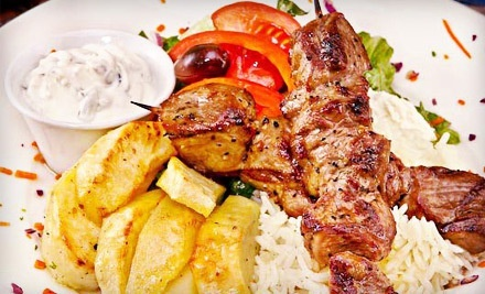 Greek Food at Blue Olive Greek Taverna (50% Off). Three Options Available.