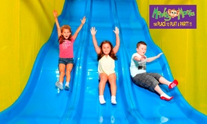 Monkey Mania: Monkey Mania Kids Pass: One ($6), Three ($17) or Ten Visits ($49) at Monkey Mania, Multiple Locations (Up to $150 Value)