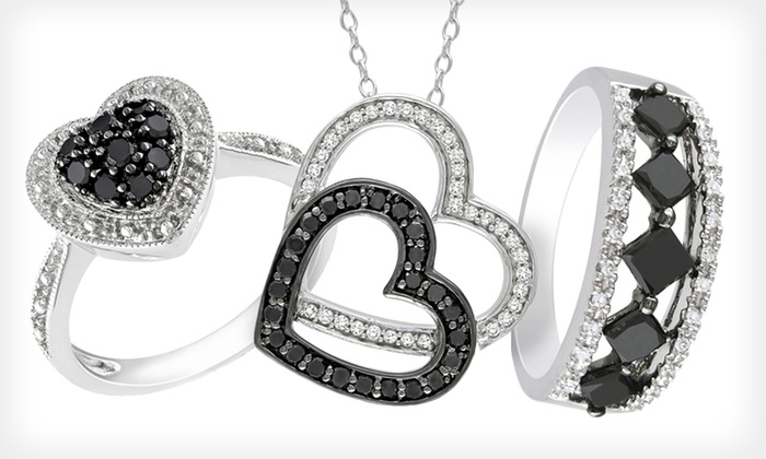 Black Diamond Jewelry: Black Diamond Jewelry (Up to 71% Off). 32 Options Available. Free Shipping and Free Returns.