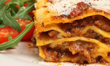 Italian Dinner for Two at Que Pasta (Up to 50% Off)