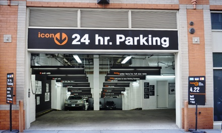 24-Hour Parking or One Month of Parking from Icon Parking Systems (Up to 62% Off). 30 Options Available.
