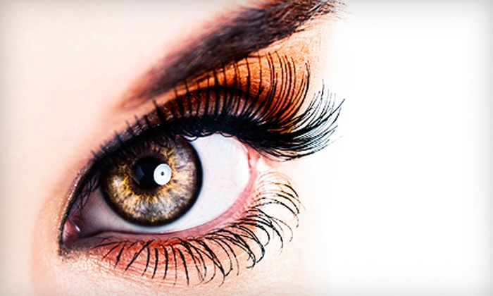 Exuberance Defined Salon and Spa at Salon Ventures - Moraine: Eyelash Extensions at Exuberance Defined Salon and Spa at Salon Ventures (Up to 58% Off). Three Options Available.