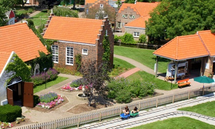 Theme-Park Visit for Two with Optional Wine and Cheese Tasting at Nelis' Dutch Village (Up to 47% Off)