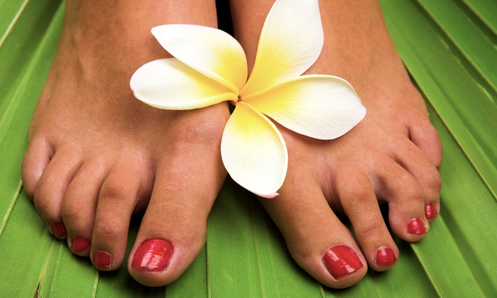 Breezy Nails & Spa, Inc - Briarwood: Manicures with Citrus or S'mores Pedicures at Breezy Nails & Spa Inc (Half Off)