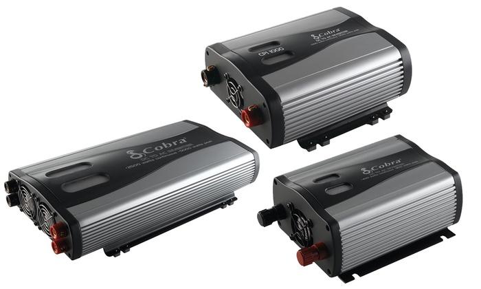 Cobra Vehicle Power Inverters (400–2,500 Watts)