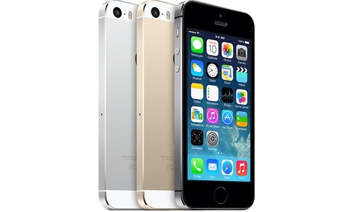 reconditionn apple iphone 5s et film de protection en. Black Bedroom Furniture Sets. Home Design Ideas
