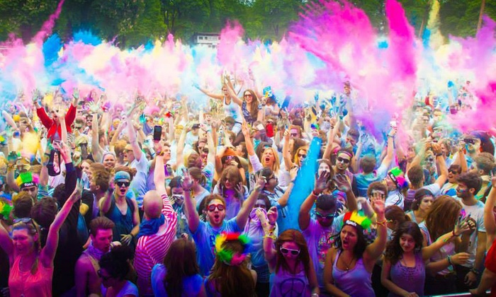 Holi Color Festival - Springfield: Registration for One, or Overnight Camping at Holi Color Festival on Saturday, August 16 (Up to 61% Off)